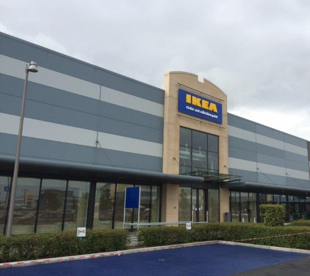 working overseas ikea s new order collection point dublin opens underwood carpenter. Black Bedroom Furniture Sets. Home Design Ideas