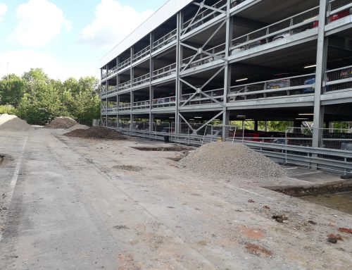 Final Phase of Multistory Car Park