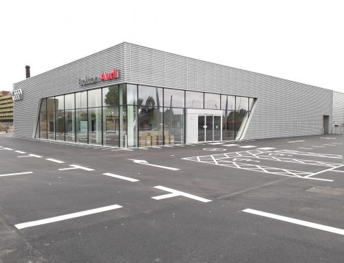 Underwood Carpenter award Practical Completion for new Audi Dealership