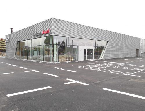 Underwood Carpenter award Practical Completion for new Audi Dealership